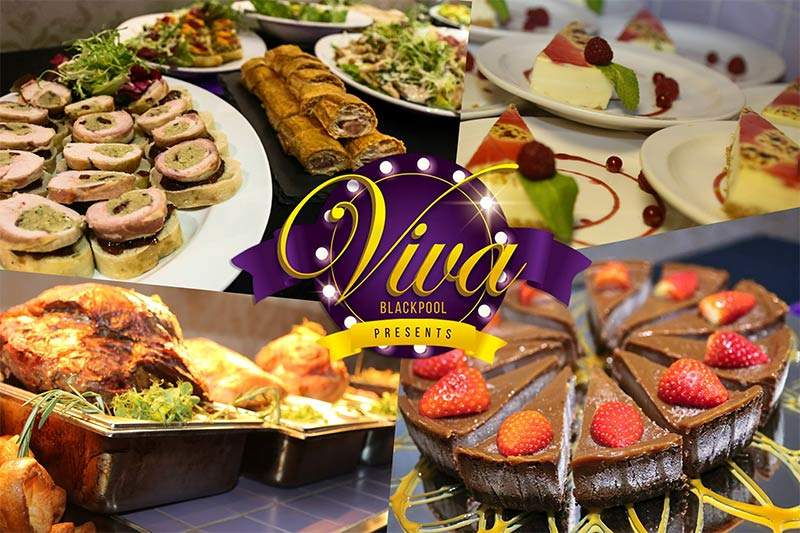 Event Catering and Food at Viva Blackpool