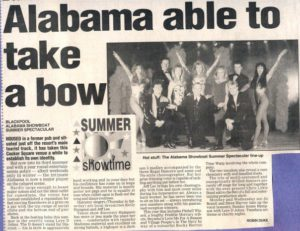 Alabama Showboat - Opening Press