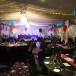 Viva Blackpool Dinner setup
