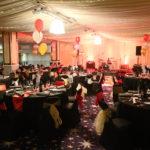 Viva Blackpool Christmas setup