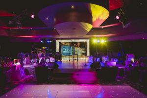 VIVA Blackpool Qdos pre-show setup